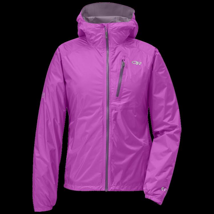Rain jacket for cycling