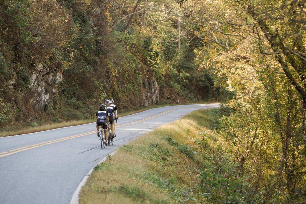 Road biking in Asheville, NC