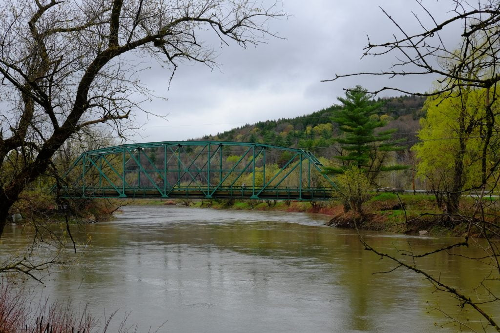 vermont river view